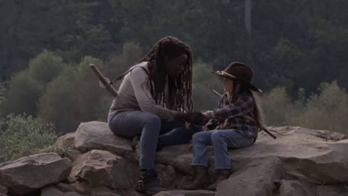 Michonne and judith