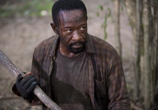 Morgan looks angry in the walking dead season 6 episode 4 320x223 1446138535