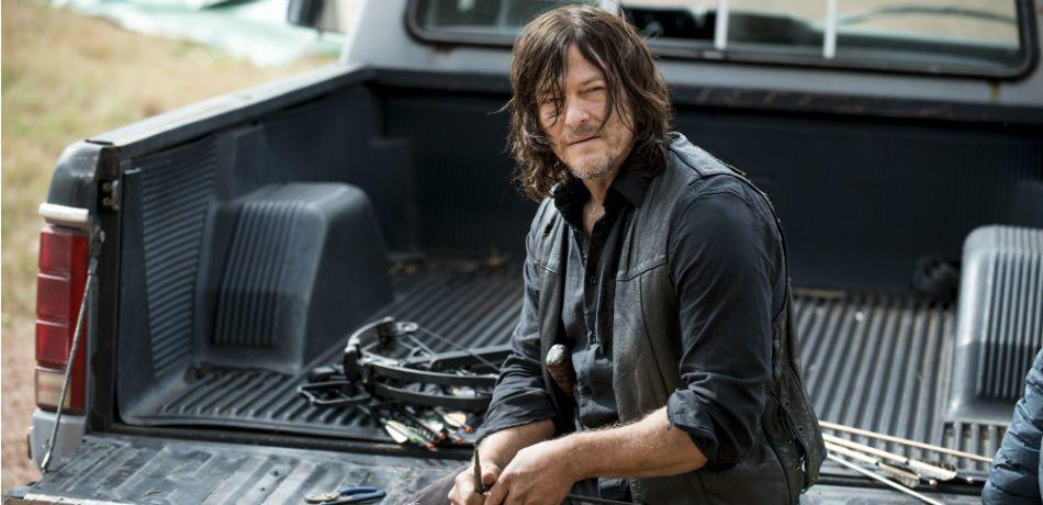 Norman reedus as daryl dixon in the walking dead season 8 episode 15