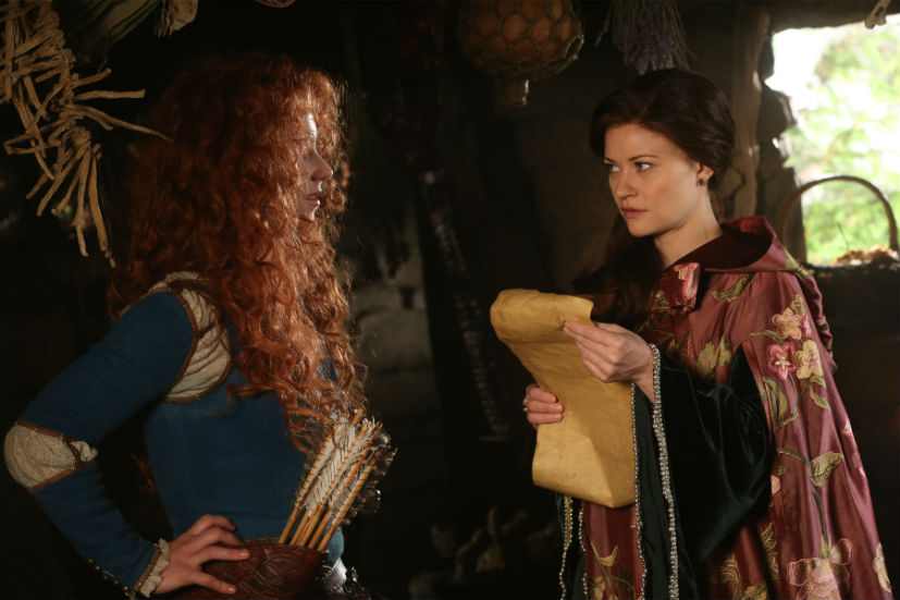 Once upon a time season 5 episode 6 merida belle