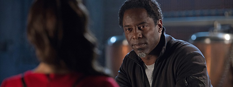 The 100 season 3 episode 6 bitter harvest thelonius jaha isaiah washington alie