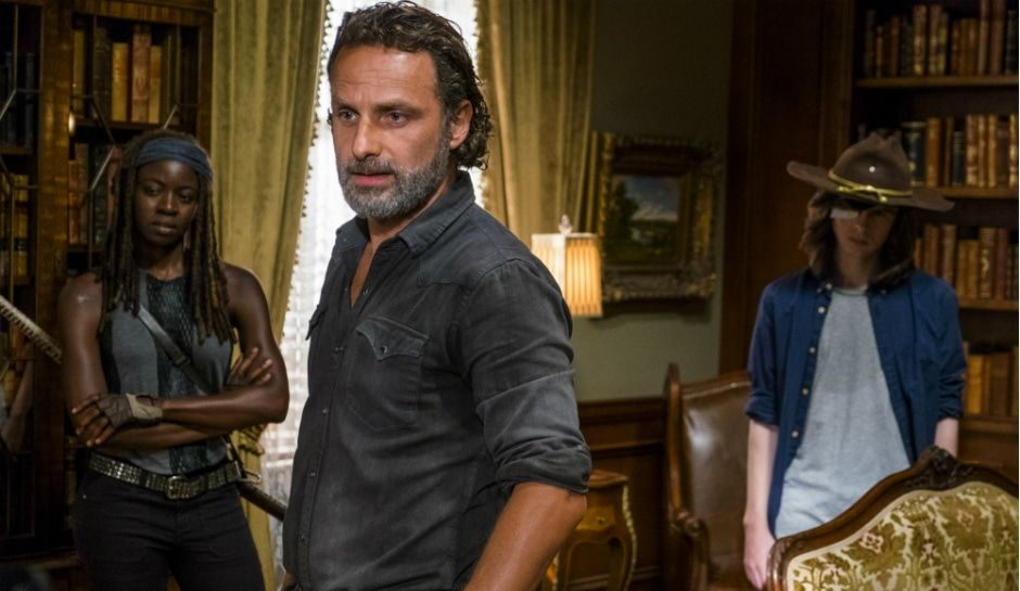 The walking dead spoilers is alexandria really prepared to fight negan