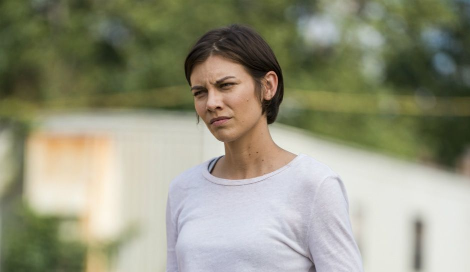 The walking dead spoilers lauren cohan on maggies words to daryl dixon