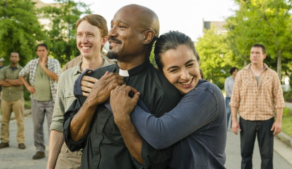 The walking dead spoilers seth gilliam on father gabriel toughening up