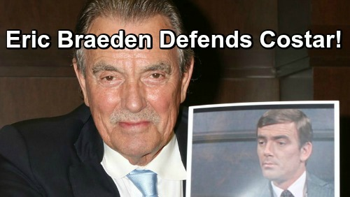 The young and the restless eric braeden victor newman yr