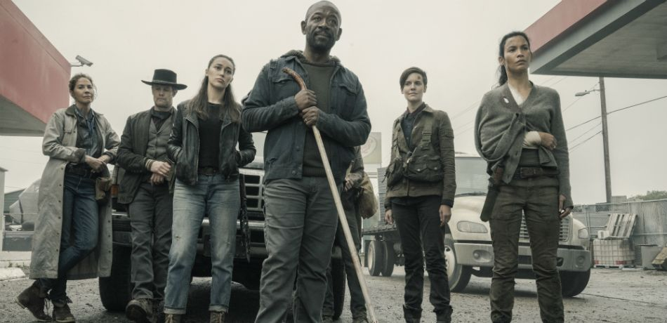 The main group in fear the walking dead