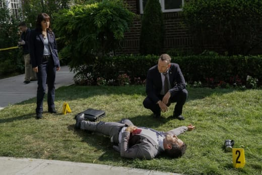 A detective is gunned down blue bloods