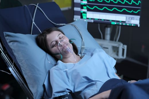 A patient during surgery the good doctor s1e4