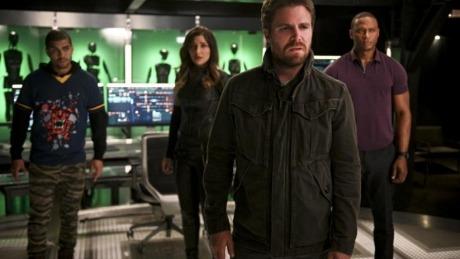 Arrow season 8 episode 4 review present tense