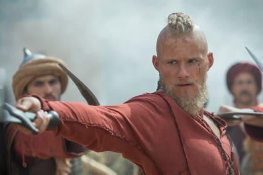 Bjorn explores vikings season 5 episode 4