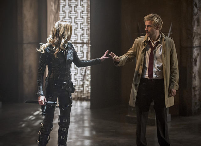Black canary and john constantine arrow s4e5