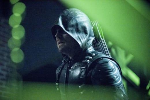 Bringing the green arrow
