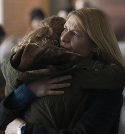 Carrie and franny reunite homeland