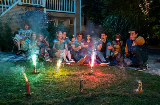 Fireworks riverdale s4e1