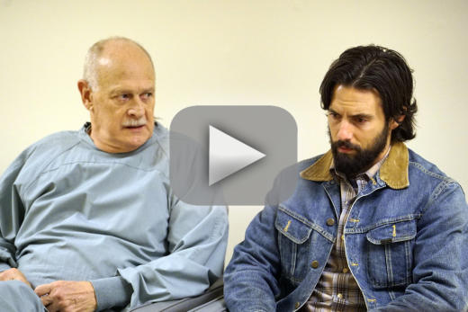 Gerald mcraney as the doctor this is us