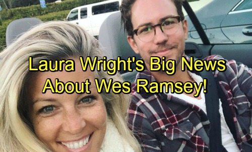 Gh carly wes laura wright ramsey car top top