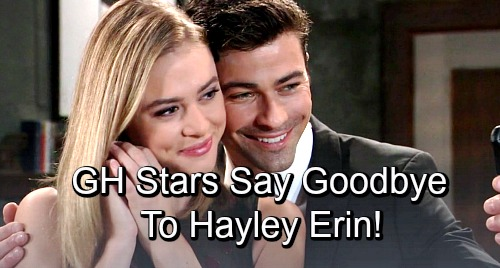 Gh hayley erin kiki goodbye top