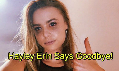 Gh hayley erin kiki jerome say goodbye exit general hospital