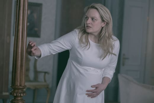 Going into labor the handmaids tale