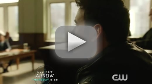 Hes back arrow