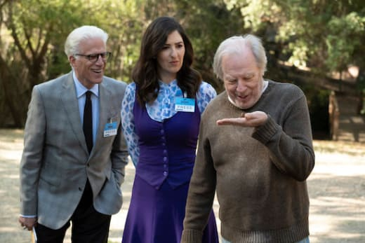 In loving memory the good place s3e9