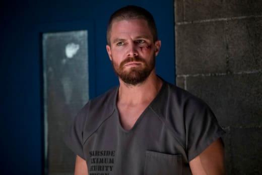 Inmate 4587 arrow season 7 episode 1