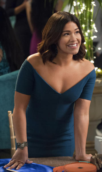 Jane works on a fundraiser jane the virgin