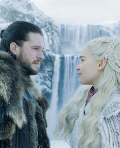 Jon and dany game of thrones s8e1