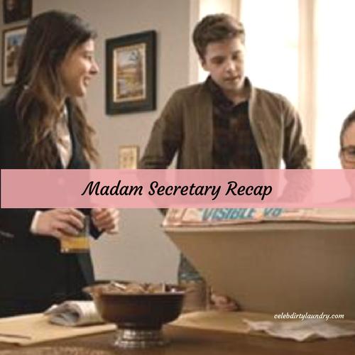 Madam secretary recap 4