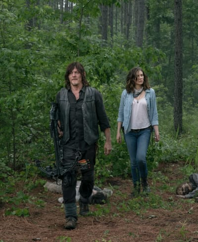 Maggie and daryl the walking dead