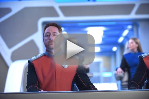 Malloy at the helm the orville s2e4