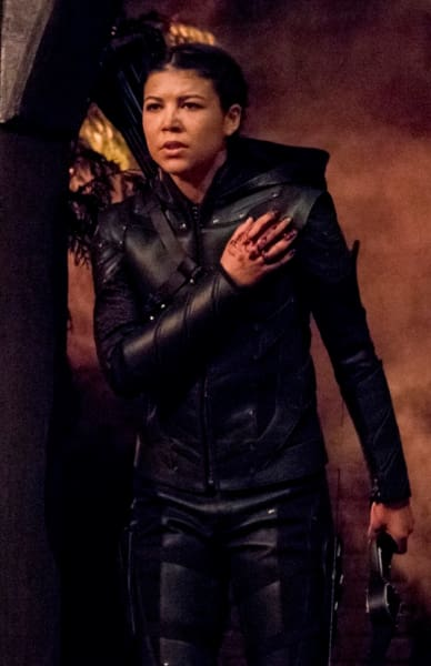My name is emiko queen tall arrow s7e10