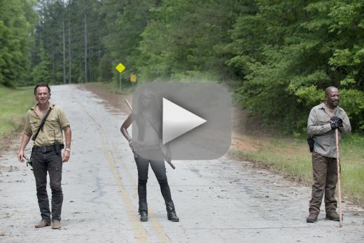 On the road again the walking dead season 6 episode 1