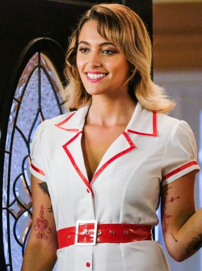 Paris jackson on scream resurrection