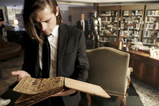 Quentin researches the magicians