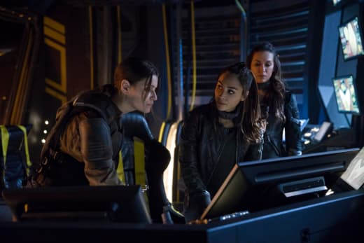 Raven echo and charmaine the 100 s5e7