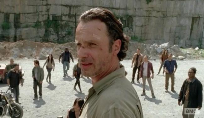 Rick walking dead questions