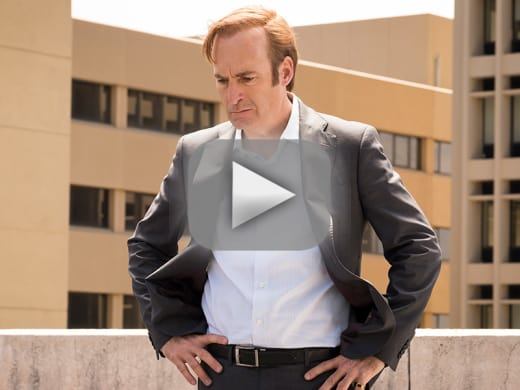 Risking his relationship better call saul