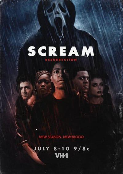 Scream resurrection poster