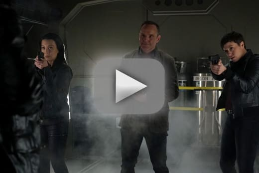Sealing the rift agents of shield