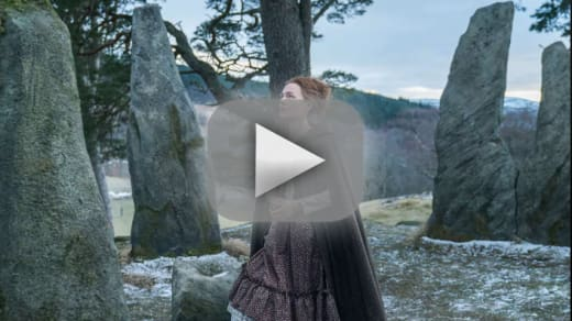 Searching for her parents outlander