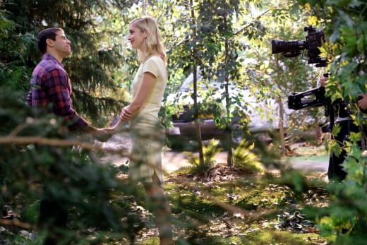 Serena and owen in the woods unreal s3e7