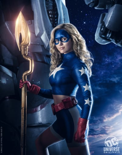 Stargirl suits up