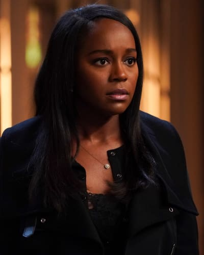 Startled michaela how to get away with murder season 6 episode 1