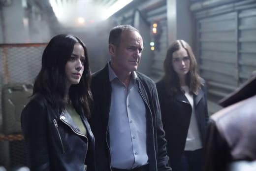 Stranded in space agents of shield