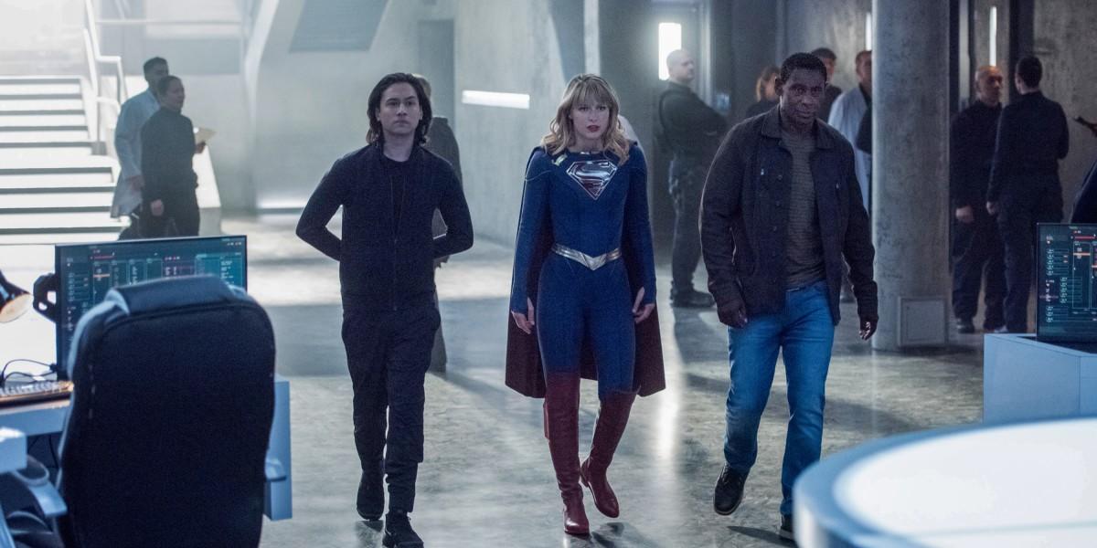 Supergirl 5x04 deo