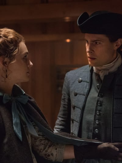 Support from lord john tall outlander s4e12
