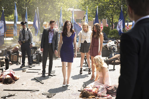 Taking over mystic falls