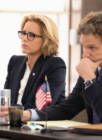 Tall bess and jay at conference madam secretary s5e6