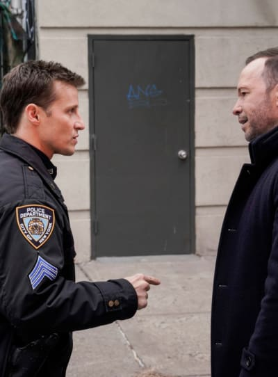 Tall jamie and danny argue blue bloods s9e14